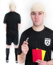 Pierluigi Collina Referee Football Fancy Dress Costume